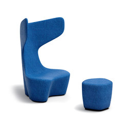 Drum | Lounge chairs | Cappellini