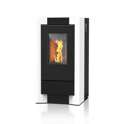 Como | with ceramic casing | Pellet burning stoves | Rika