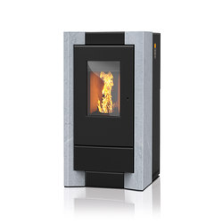 Como | with soapstone casing | Pellet burning stoves | Rika