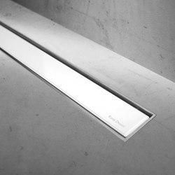 Modulo TAF White Glass | Linear drains | Easy Drain