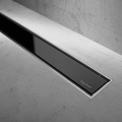 Modulo TAF Black Glass | Linear drains | Easy Drain