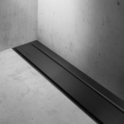 Modulo TAF Wall Black Chrome | Linear drains | Easy Drain