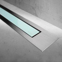 Modulo Design Z-4 Brush Green Glass | Linear drains | Easy Drain