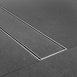 Geberit shower channels cleanline linear drains from for Geberit drains