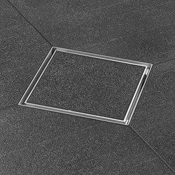 Aqua Quattro | Plus Quattro Tile Grate | Plate drains | Easy Drain