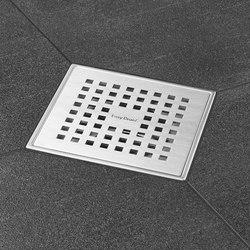 Aqua Quattro | Plus Quattro Grate | Plate drains | Easy Drain
