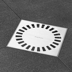 Aqua Quattro | Plus Quattro  Brilliant | Compact Grate | Punktabläufe / Badabläufe | Easy Drain