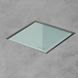 Aqua Jewels Quattro Green Glass | Sumideros para baños | Easy Drain