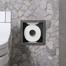 Roll Multi Storage (5/6) Square | Portarotolo | Easy Drain