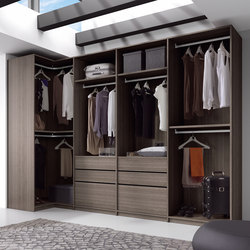 Ecco Walk-In-Closet | Walk-in wardrobes | Sistema Midi