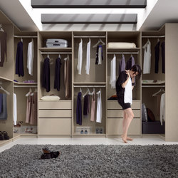 Ecco Walk-In-Closet | Cabine armadio | Sistema Midi
