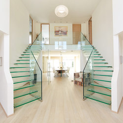 Mistral Twin | Glass stairs | Siller Treppen