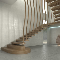 Wave   Staircase systems   Siller Treppen
