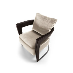 Agatha | Lounge chairs | Longhi S.p.a.