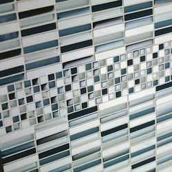 Ebb & Flow | Glass mosaics | Crossville