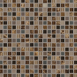 Ebb & Flow Sticks And Stones | Glas Mosaike | Crossville