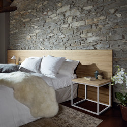 Solid Timber Headboard | Têtes de lit | Sistema Midi
