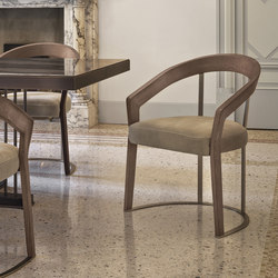 Frances | Visitors chairs / Side chairs | Longhi S.p.a.