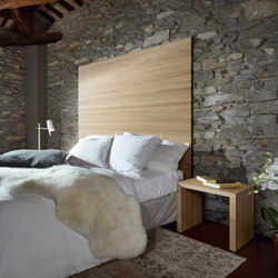 Solid Timber Headboard | Testiere di letto | Sistema Midi