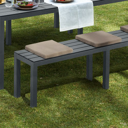 Midi Outdoor bench | Garden benches | Sistema Midi