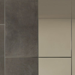 Land | Leather tiles | Longhi S.p.a.