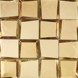 Sideview Glass Gold | Mosaïques verre | Crossville