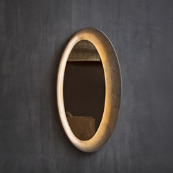 Saturno Wall mirror | Mirrors | Flou