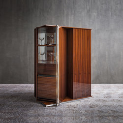 Torri Bar-refrigerator | Display cabinets | Flou