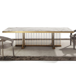 Schubert | Dining tables | Longhi S.p.a.