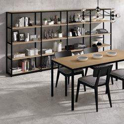 Ilusion Bookshelf | Shelving | Sistema Midi