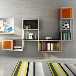 Ilusion Bookshelf | Étagères | Sistema Midi