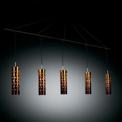 Dimple Penta suspension | Suspended lights | Slamp