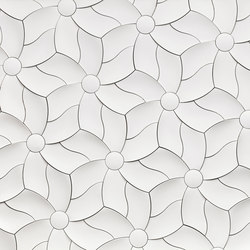 Petal | Concrete/cement wall tiles | KAZA