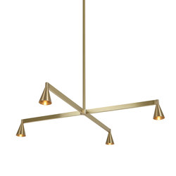 Austere Chandelier | Suspended lights | Trizo21