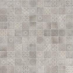 Betonsquare White-Grey Decor | Carrelage pour sol | Terratinta Ceramiche
