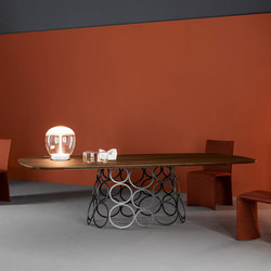 Hulahoop | Tavoli da pranzo | Bonaldo