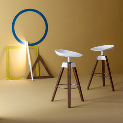 Plumage | Counter stools | Bonaldo