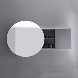 Coco | Mirror cabinet with indirect LED-light and selection: cold/warm white | Armadietti specchio | burgbad
