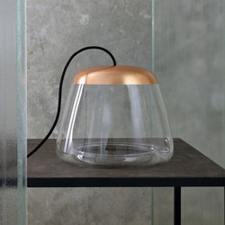 ICE Absolute | TB1500 Copper | Luminaires de table | Hind Rabii