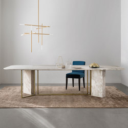 Plinto Table Y2W | Mesas comedor | Meridiani