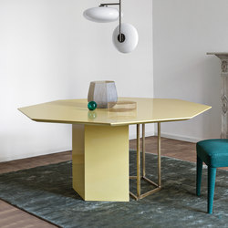 Plinto Table ZK | Mesas comedor | Meridiani