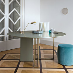 Plinto Table XW | Mesas comedor | Meridiani