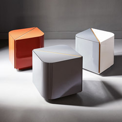 Shine | Dimitri Night table | Side tables | Meridiani