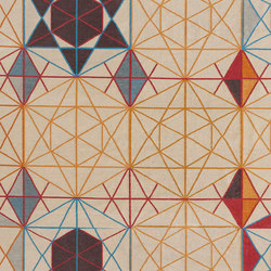 Hexa Rectangular Rug Orange 2 | Rugs / Designer rugs | GAN