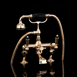 Black Diamond Bath and Shower mixer | Bath taps | Devon&Devon