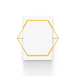 Untitled Mirror Hexa Yellow | Specchi | Untitled Story