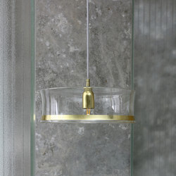 3x3x3 | M1 Glass Chic Gold | Suspended lights | Hind Rabii