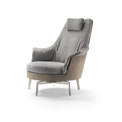 Guscioalto Light Armchair | Lounge chairs | Flexform