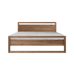 Teak Light Frame bed | Camas dobles | Ethnicraft