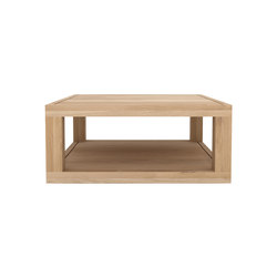 Oak Duplex coffee table | Lounge tables | Ethnicraft